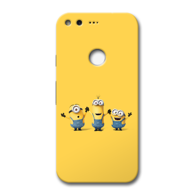 Three Minions Google Pixel Case