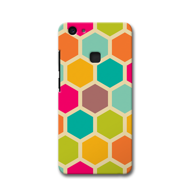 Hexagon Color Pattern Vivo V7 Plus Case