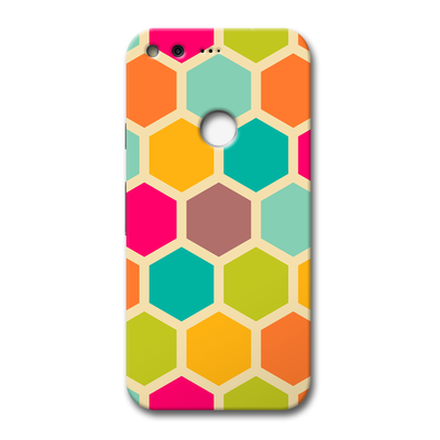 Hexagon Color Pattern Google Pixel Case