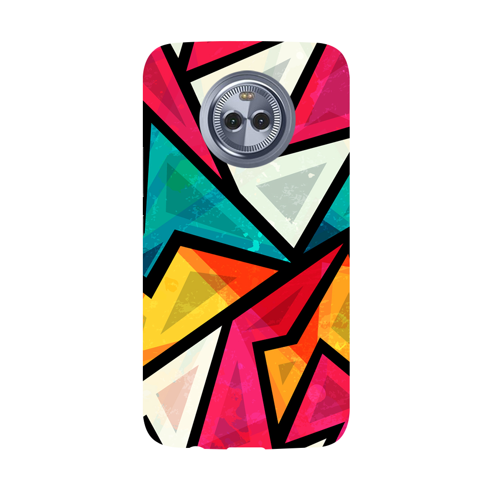 Angular Pattern Moto X4 Case