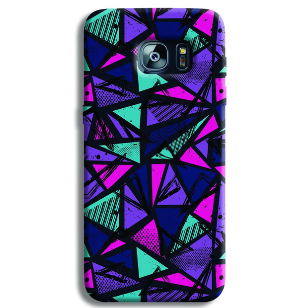 Blues Pattern Samsung S7 Edge Case