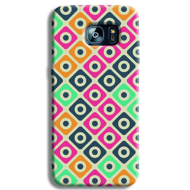 Shapes Pattern Samsung S7 Edge Case