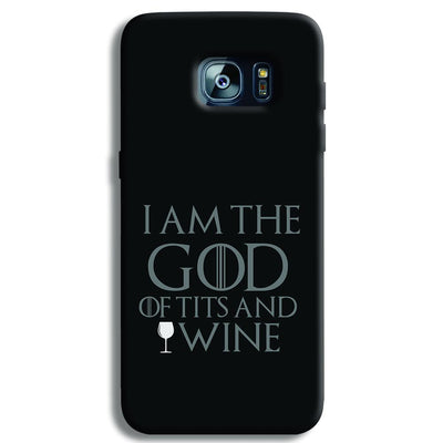 I AM THE GOD Samsung S7 Edge Case