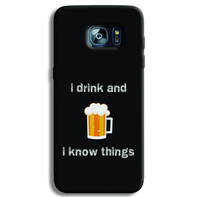 I Drink Samsung S7 Edge Case