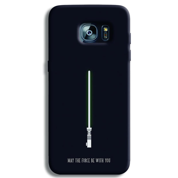 Starwars-lightsaber-Blue Samsung S7 Edge Case