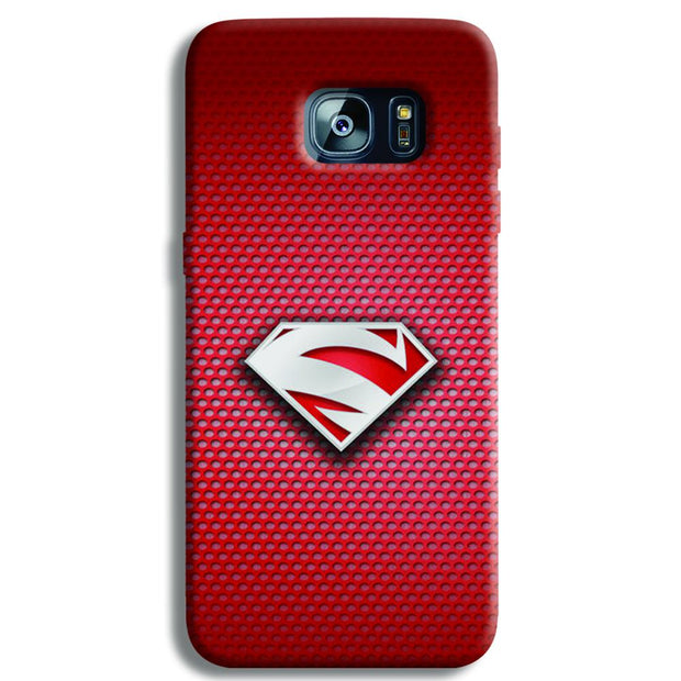 Superman Red Samsung S7 Edge Case