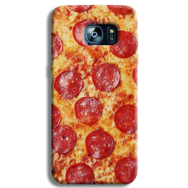 Pepperoni Pizza Samsung S7 Edge Case