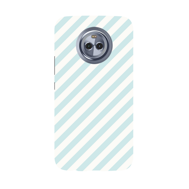 Stripe Pattern Moto X4 Case