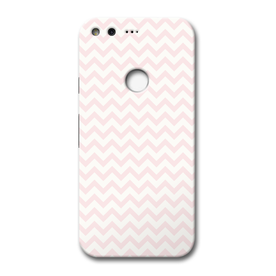 Light Pink Chevron Pattern Google Pixel Case
