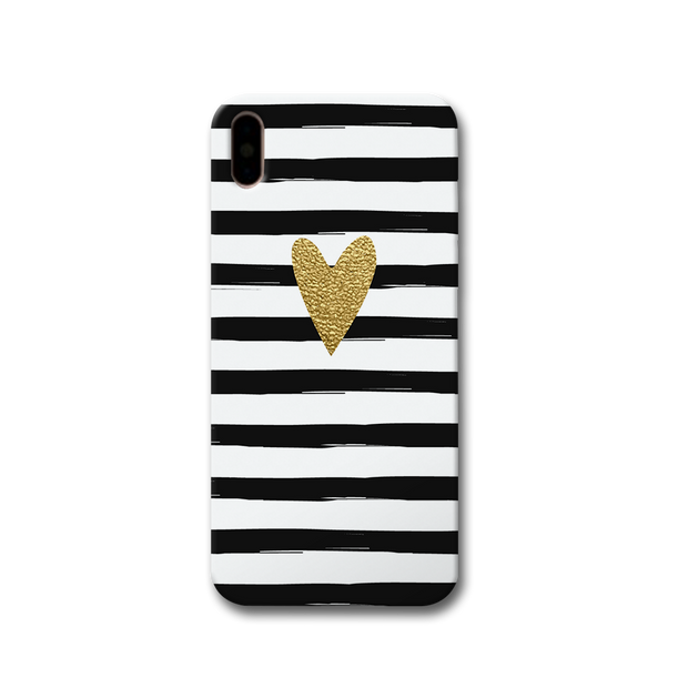 Bling Heart Apple iPhone X Case