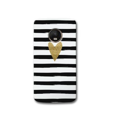 Bling Heart Moto G5s Case