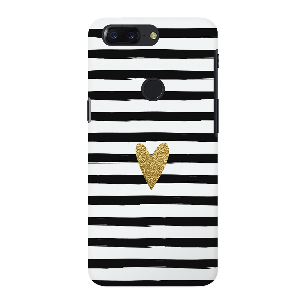 Bling Heart OnePlus 5T Case