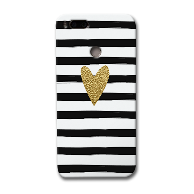 Bling Heart Redmi Mi A1 Case