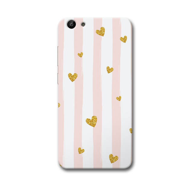 Cute Heart Pattern Vivo Y69 Case
