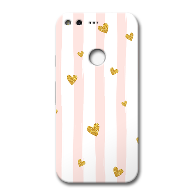 Cute Heart Pattern Google Pixel Case