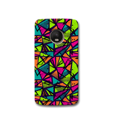Geometric Color Pattern Moto G5s Case