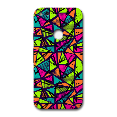 Geometric Color Pattern Google Pixel Case