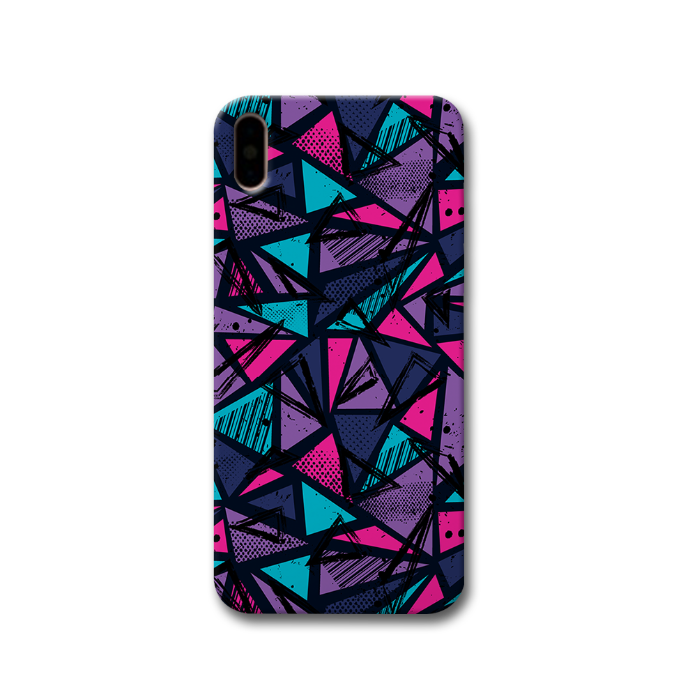 Blues Pattern Apple iPhone X Case