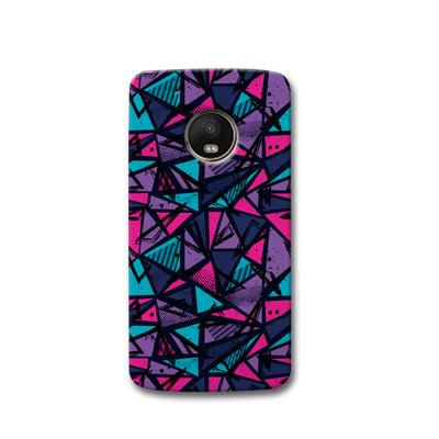 Blues Pattern Moto G5s Case