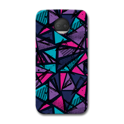 Blues Pattern Moto G5s Plus Case