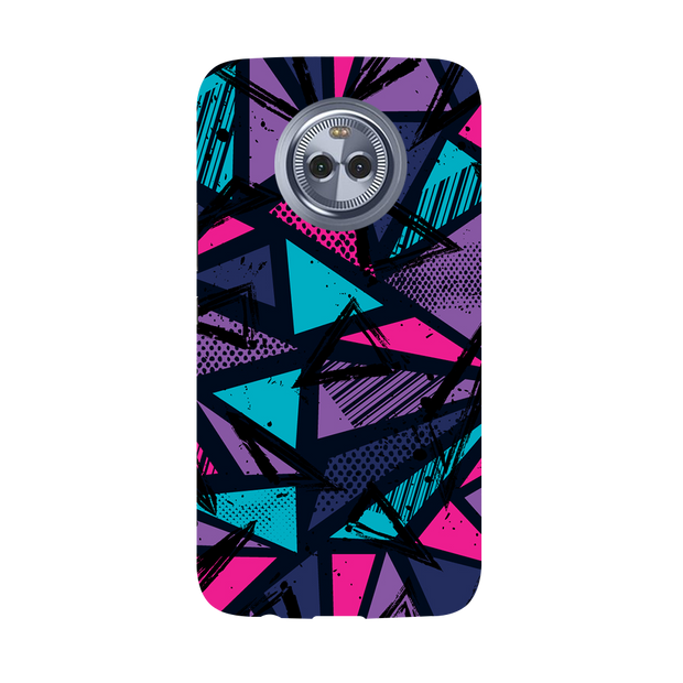 Blues Pattern Moto X4 Case