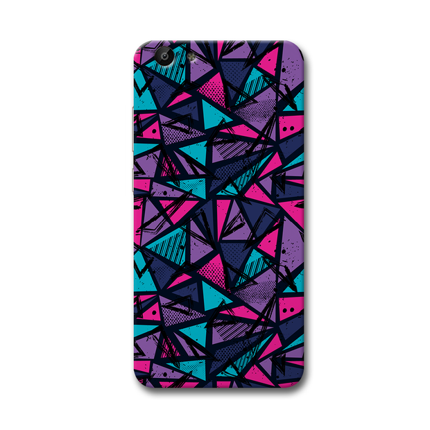 Blues Pattern Vivo Y69 Case