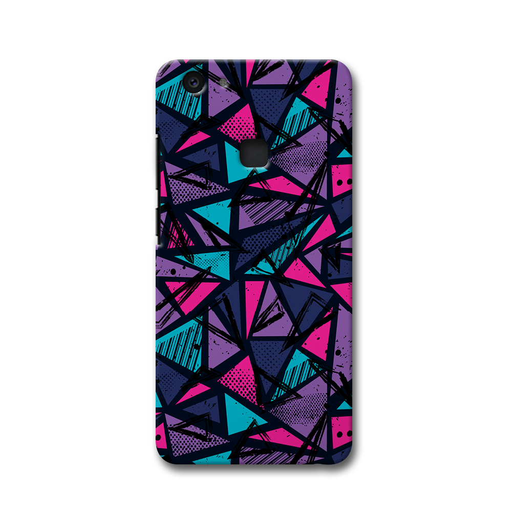 Blues Pattern Vivo V7 Plus Case