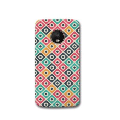 Shapes Pattern Moto G5s Case