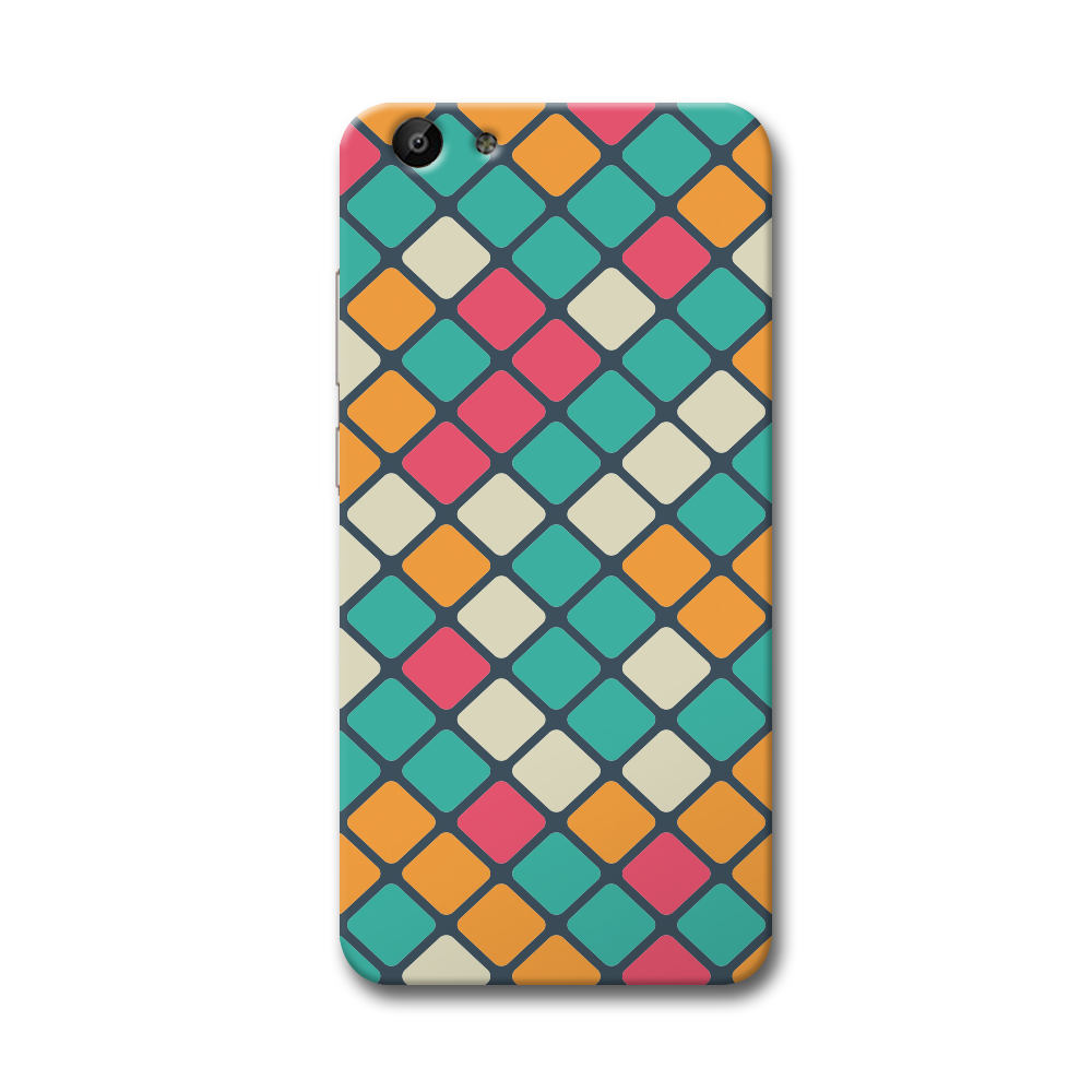 Colorful Tiles Pattern Vivo Y69 Case