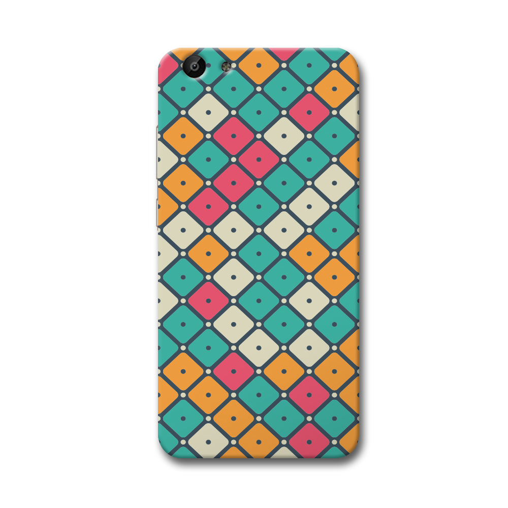 Colorful Tiles with Dot Vivo Y69 Case