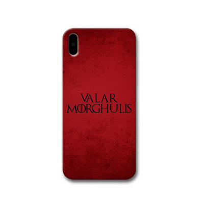 VALAR MORGHULIS Apple iPhone X Case