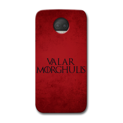 VALAR MORGHULIS Moto G5s Plus Case