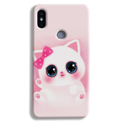 Pink Cat Xiaomi Redmi Y2 Case