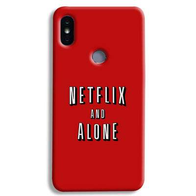 Netflix and Alone Xiaomi Redmi Y2 Case