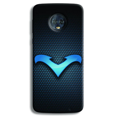 Nightwing Blue Moto G6 Plus Case