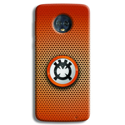 Orange Lantern Moto G6 Plus Case