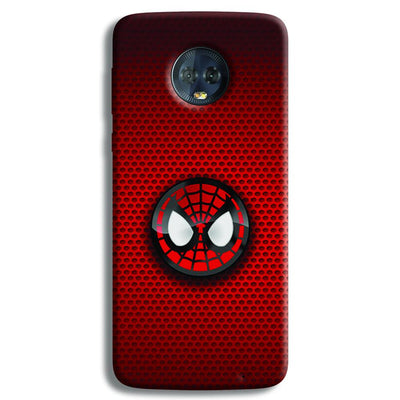 Spider Man Logo Moto G6 Plus Case
