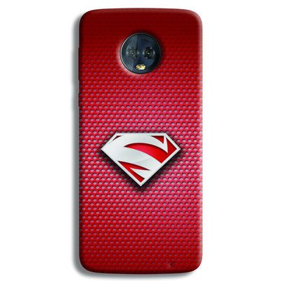 Superman Red Moto G6 Plus Case