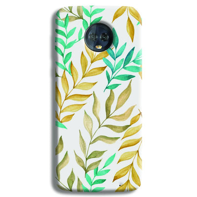 Tropical leaves  Moto G6 Plus Case