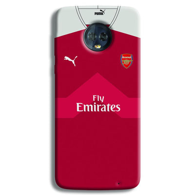 Arsenal F.C. Jersey Moto G6 Plus Case