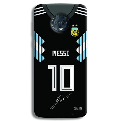 Messi (Argentina) Jersey Moto G6 Plus Case