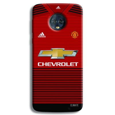 Manchester United Jersey Moto G6 Plus Case