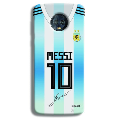 Messi Jersey Moto G6 Plus Case