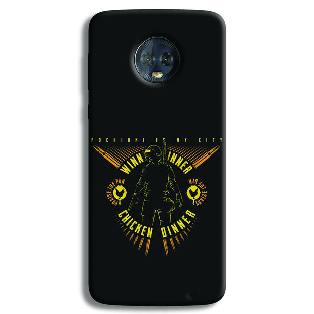 Pubg Playerunknowns Battlegrounds Moto G6 Plus Case