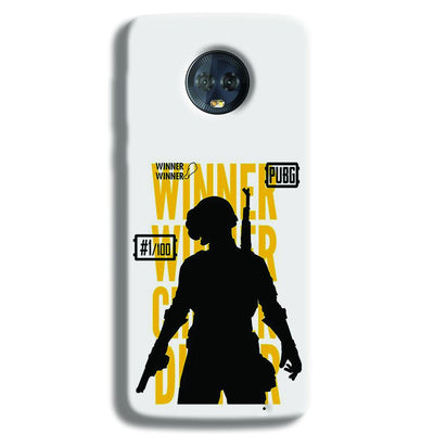 Pubg Winner Winner Moto G6 Plus Case