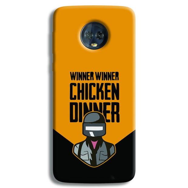 Pubg Chicken Dinner Moto G6 Plus Case