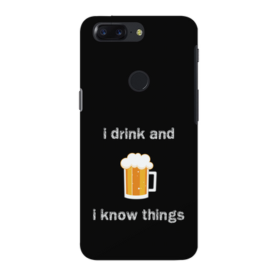 I Drink OnePlus 5T Case