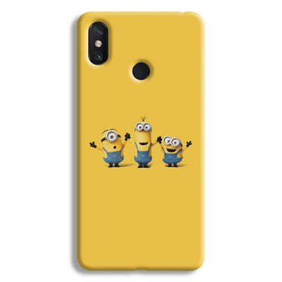 Three Minions Mi Max 3 Case