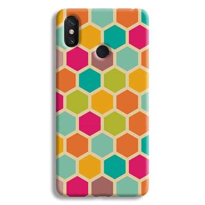 Hexagon Color Pattern Mi Max 3 Case