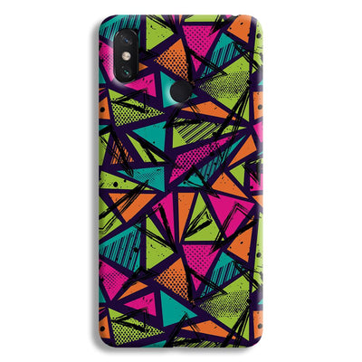 Geometric Color Pattern Mi Max 3 Case